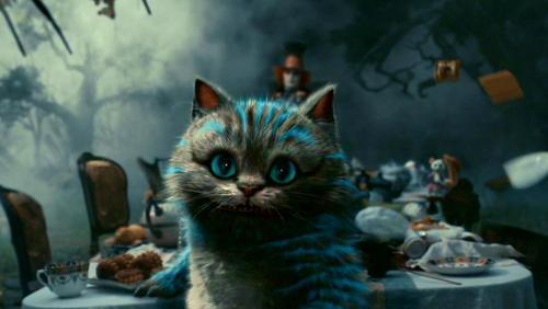 Alice in Wonderland (2010) karatasi la kupamba ukuta entitled Tim Burton's 'Alice In Wonderland'