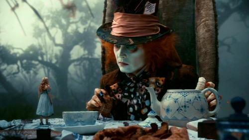 Alice in Wonderland (2010) wallpaper titled Tim Burton's 'Alice In Wonderland'