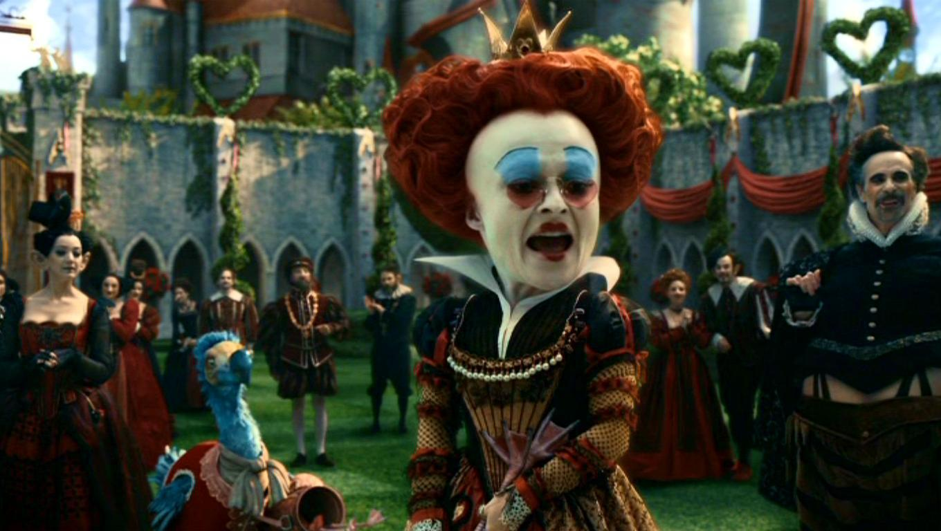 tim burton alice in wonderland distinctively visual To see that etranges libellules' interpretation of alice in wonderland has more to do with lewis carroll then tim burton  visual affinity with burton's.