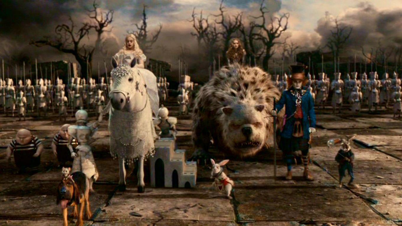 Tim Burton's 'Alice In Wonderland'