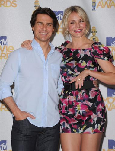 Tom & Cameron @ 2010 mtv Movie Awards