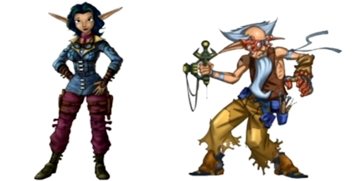 Jak And Daxter Images Tym And Keira Wallpaper And Background Photos