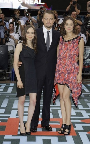 """UK premiere of """"Inception"""" (July 8)."""