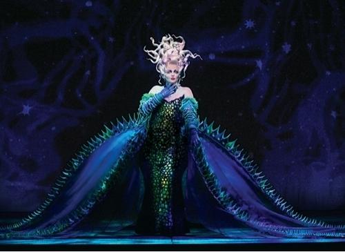 Ursula sexy pose