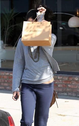 Vanessa out in LA