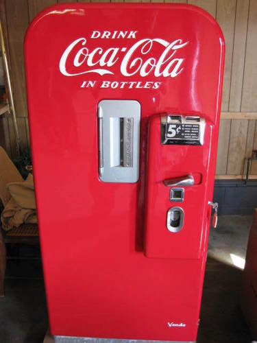 Vintage Coke MAchine - coke Photo