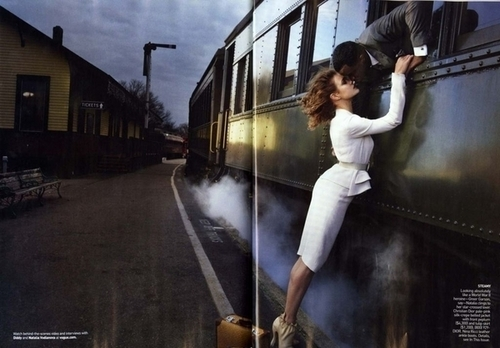 Vogue US February 2010 || Classic Romance