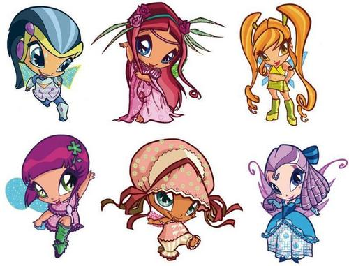 The Winx Gang wallpaper entitled Winx Club Pics