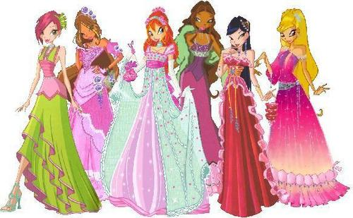 The Winx Gang wallpaper called Winx Club Pics