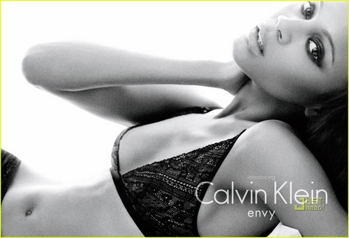 Zoe Saldana: Calvin Klein's Newest Face!
