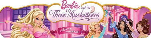 barbie three musketeers banner