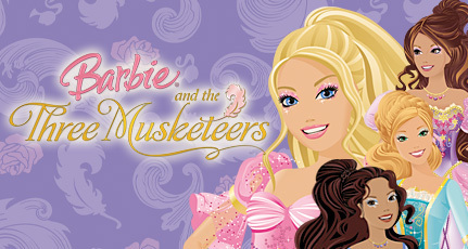 Barbie three musketeers