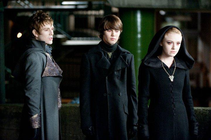 Jane, Alec and Demetri