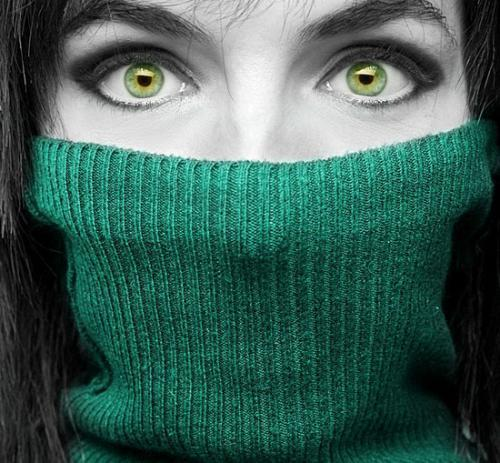People With Green Eyes wallpaper called greenness