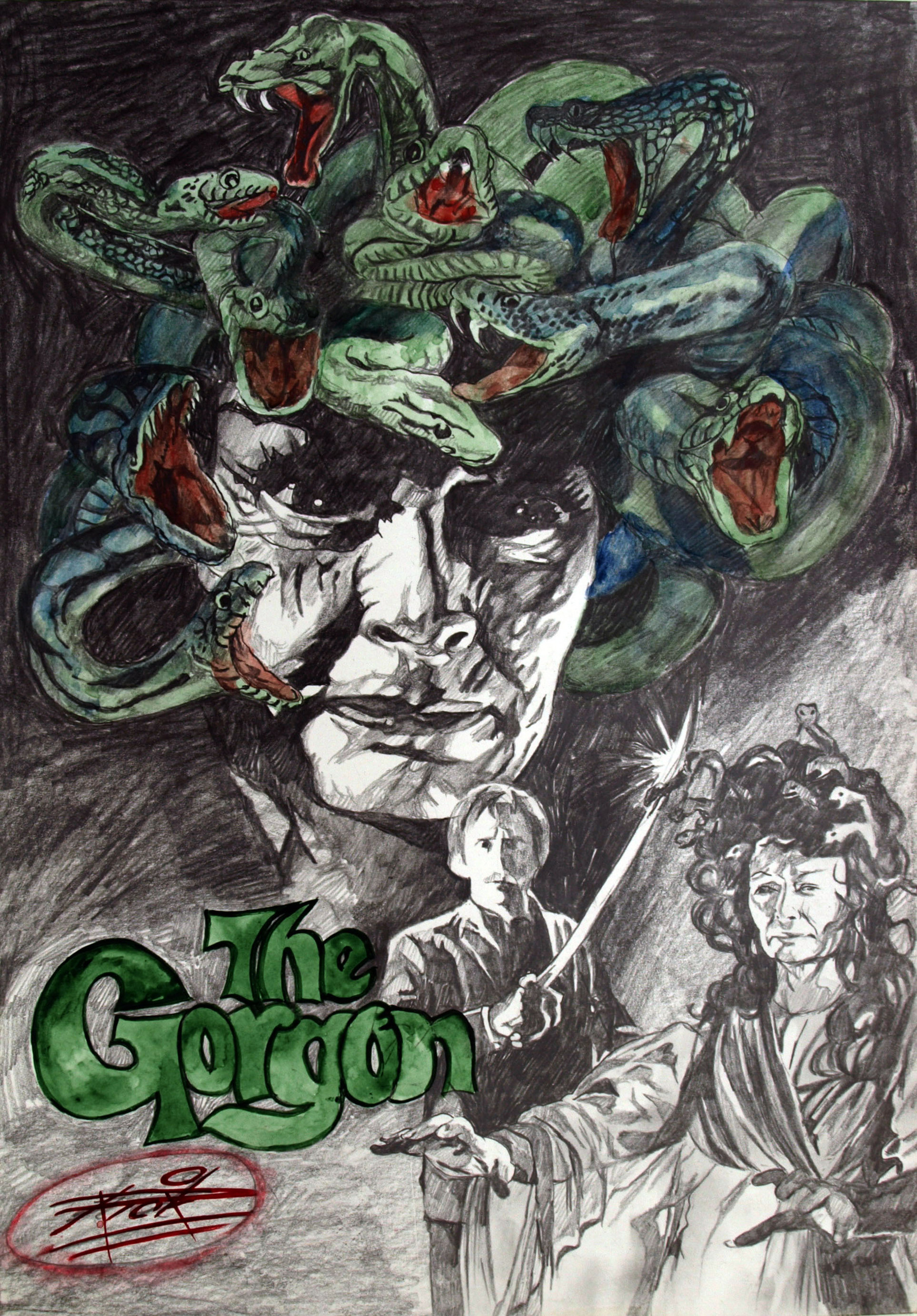 Hammer Horror Films hammer horror . the gorgon