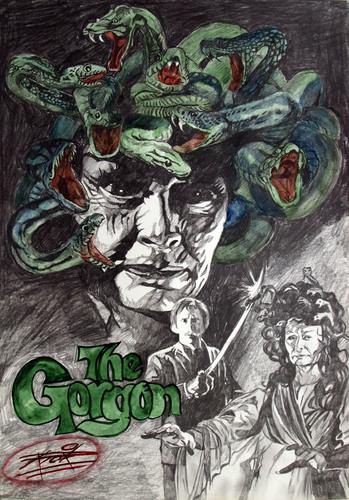 hammer horror . the gorgon
