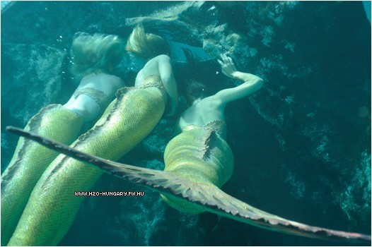 mermaids underwater - h2o-just-add-water photo