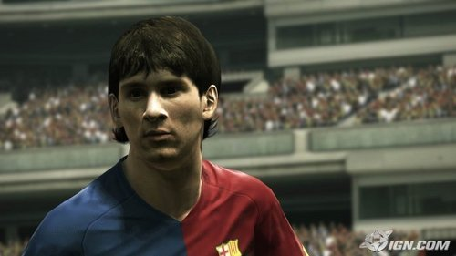 messi in pes2010
