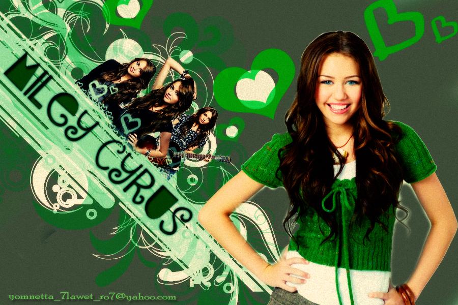 Miley Cyrus miley green