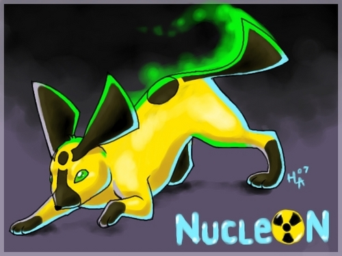 Eevee Evolutions Clan fondo de pantalla entitled nucleon