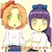 sakura and  hinata - naruto-women icon