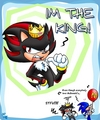 shadow iam king! - shadow-the-hedgehog photo
