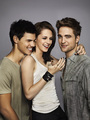 tay tay, rob and kristen - twilight-series photo