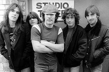 the amazing band: AC/DC!