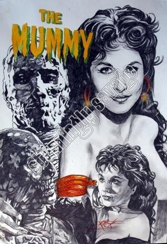 the mummy ltd print