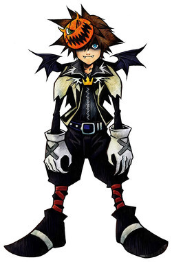 kingdom hearts fondo de pantalla called vampire sora