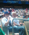 10/07/2010 David and Chris Carter at Dodgers Game