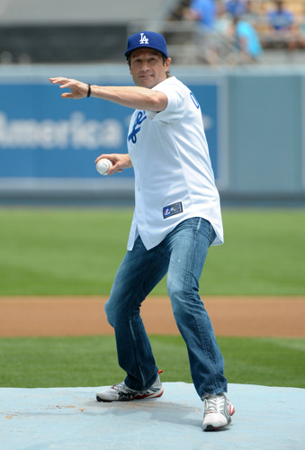 10/07/2010 - David at the Dodgers Game