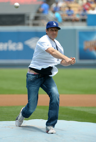 10/07/2010 - David at the Dodgers Game