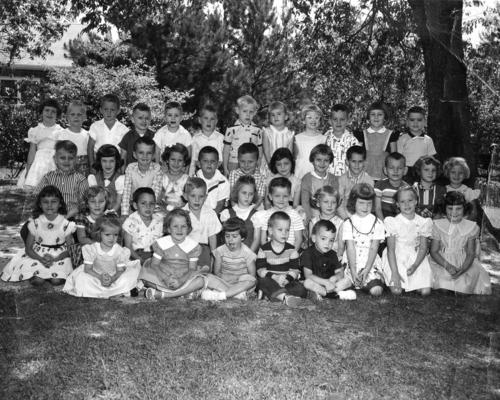 1956 kindergarten grads