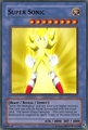 A Super Sonic Yugioh card - sonic-the-hedgehog photo