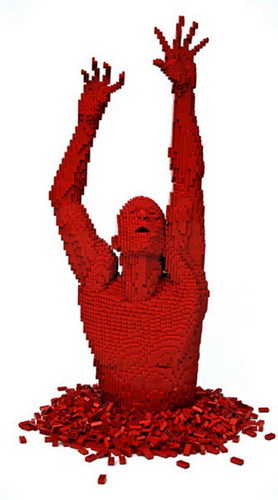 ART WITH LEGO BLOCKS