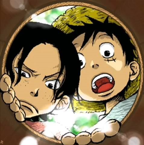 Luffy + Ace Ace-and-Luffy-anime-13757717-477-478