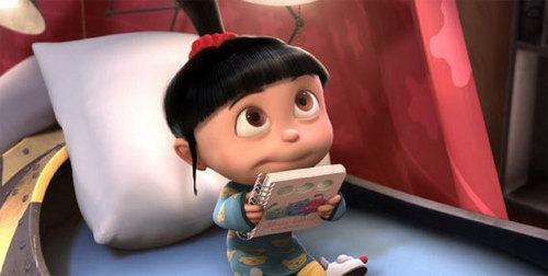 Agnes wants a story - despicable-me Screencap