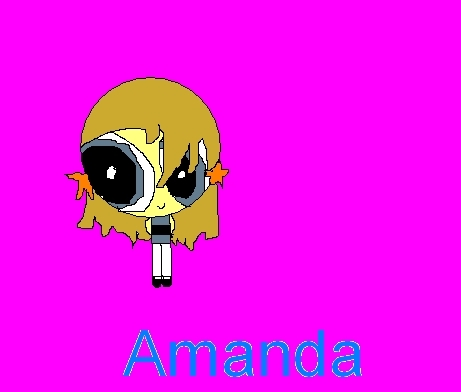 The RowdyRuff Boys wallpaper titled Amanda Powerpuff