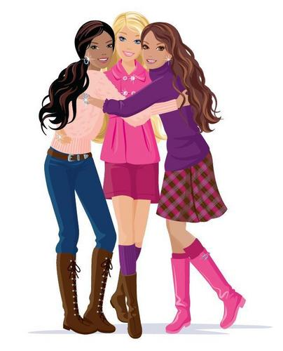 Barbie, Christie and Teresa