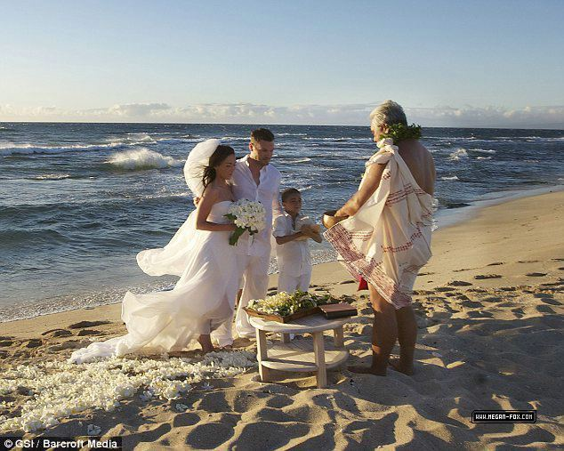Brian Austin Green and Megan শিয়াল Wedding
