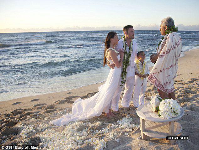 Brian Austin Green and Megan শিয়াল Wedding