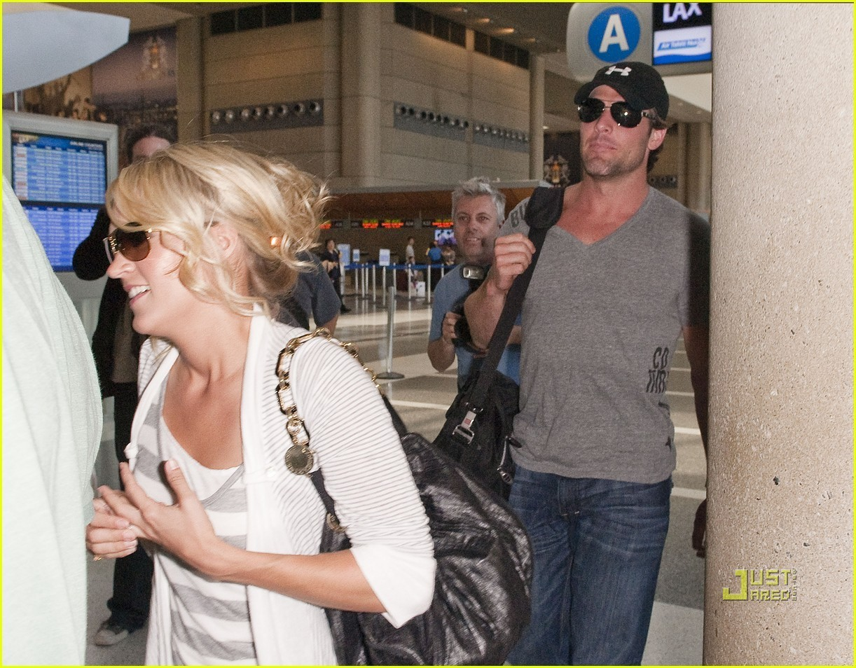 Underwood Carrie and mike fisher honeymoon