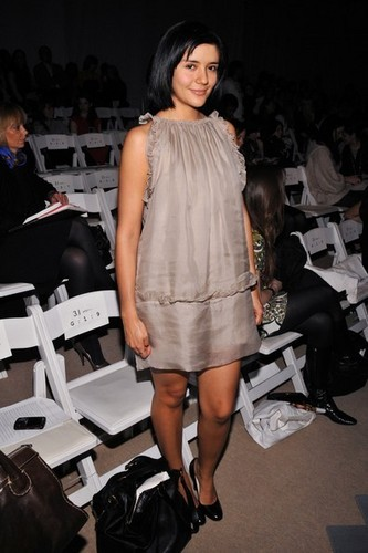 Catalina At 3.1 Phillip Lim - Front Row - Fall 08 MBFW