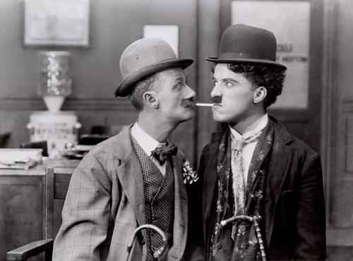 "Chaplin ""His New Job"""