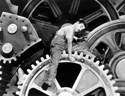 """Chaplin """"Modern Times"""""""