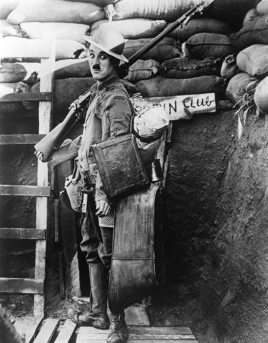 "Chaplin ""Shoulder Arms"""