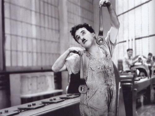 Charlie Chaplin karatasi la kupamba ukuta entitled Chaplin
