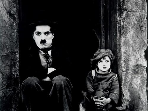 Charlie Chaplin karatasi la kupamba ukuta called Chaplin