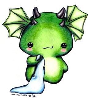 Cutie Dragon:)